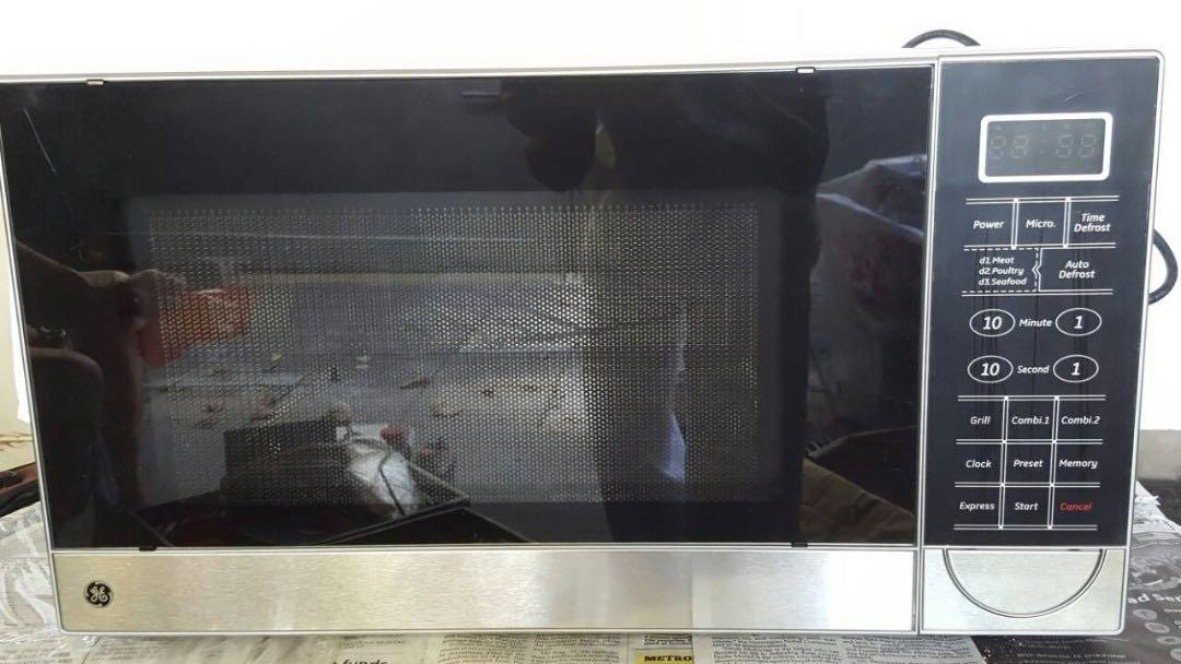 ge digital microwave oven