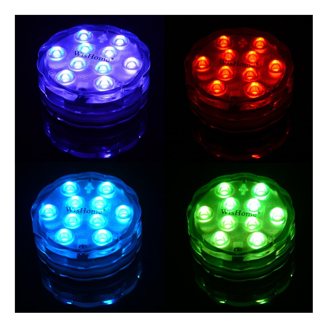 Remote Controlled Battery Operated Led Lights