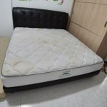 Harvey Norman King Bed Frame Dark Brown Furniture Beds Mattresses On Carousell