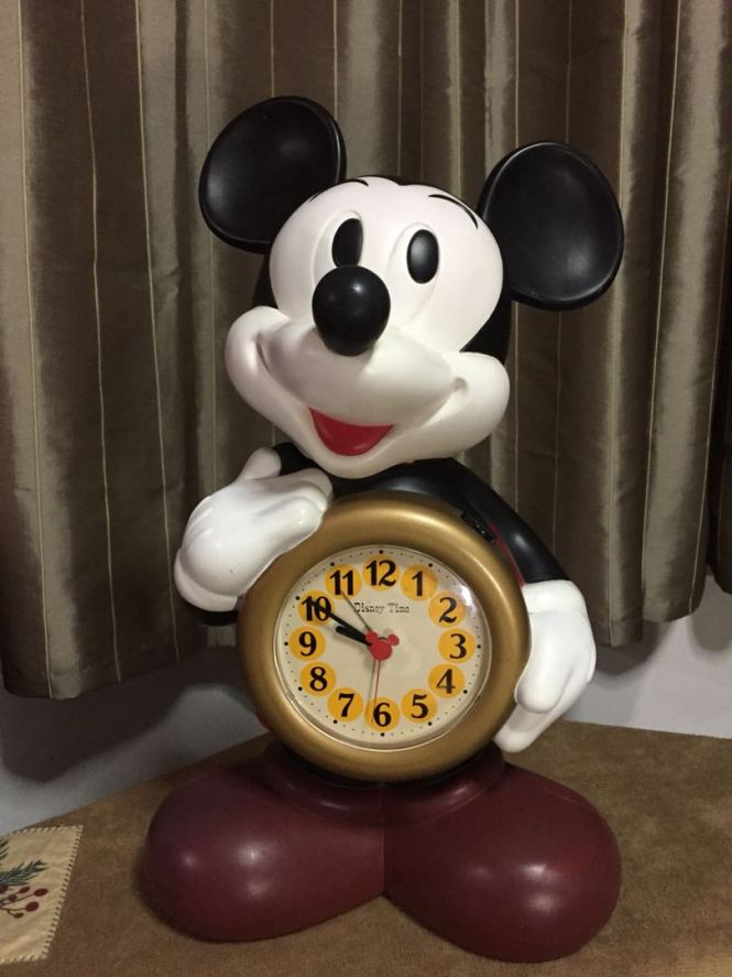 Vintage Mickey Mouse Alarm Clock Toys