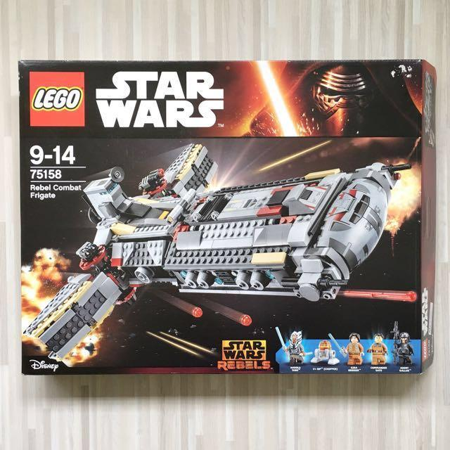 Brand New Lego Star Wars 75158 Rebel Combat Frigate Factory