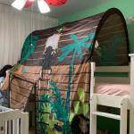 Ikea Kura Jungle Bed Tent With Canopy Babies Kids Cots Cribs On Carousell
