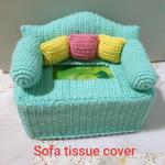 Crochet Tissue Box Cover Sofa Design Design Craft Handmade Craft On Carousell
