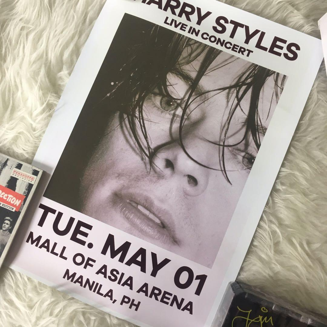 harry styles concert poster