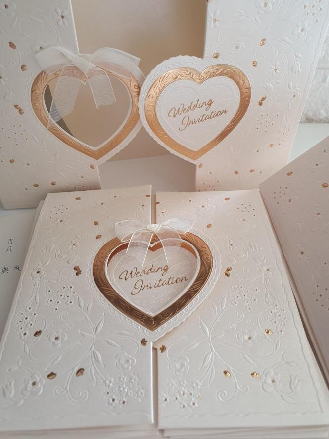 Wedding Invitation Cards X 15 Design