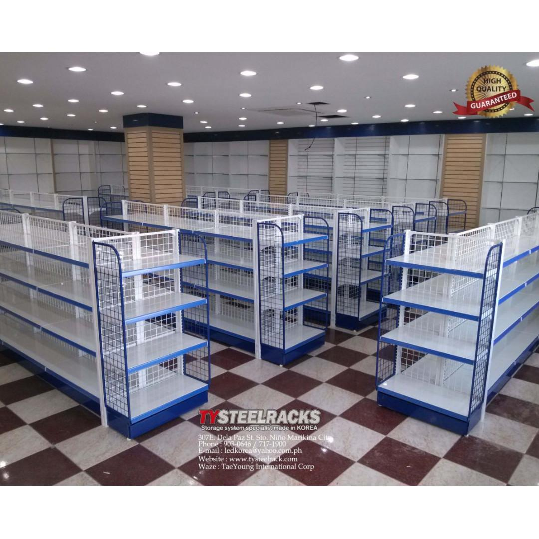 High Quality Convenience Grocery Gondola Shelving On Carousell