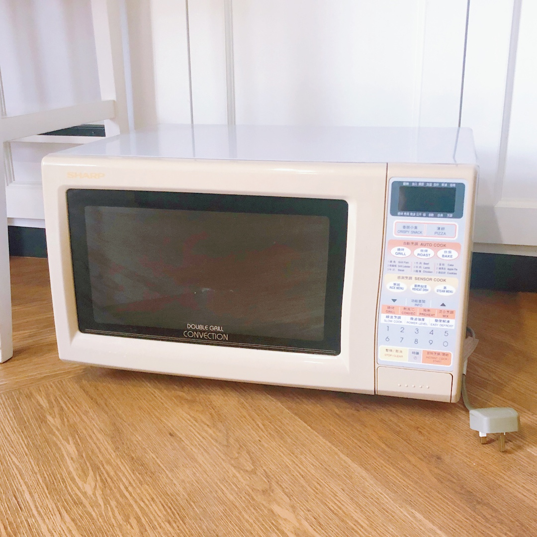sharp double grill convection oven microwave made in japan
