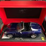 Bbr 1 18 Ferrari Sa Aperta In Electric Blue Toys Games Others On Carousell