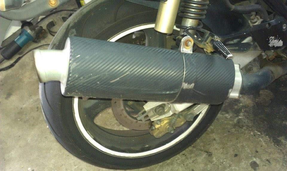 two brothers exhaust pipe super4