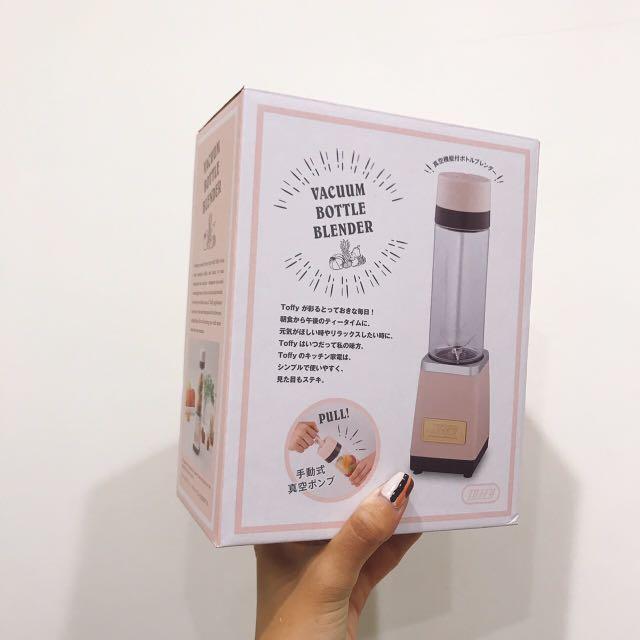 日本toffy真空果汁機, 廚房家電在旋轉拍賣