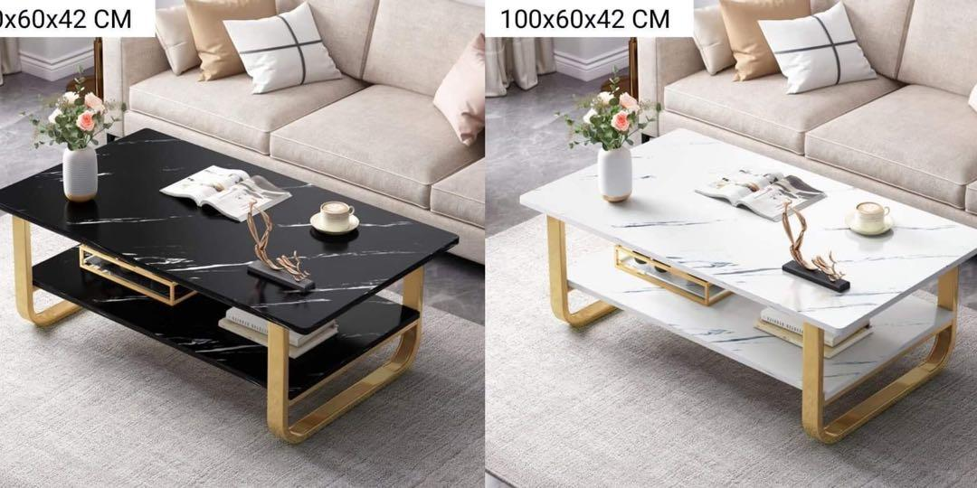 gold steel legs teapoy table