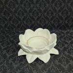 Partylite Ceramic Lotus Candle Holder Home Furniture Home Tools And Accessories On Carousell