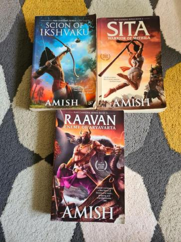 Trilogy of Ram Chandra Series by Amish, Books & Stationery, Fiction on Carousell