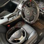 Lexus Is300 Carbon Fiber Steering Wheel Car Accessories Accessories On Carousell
