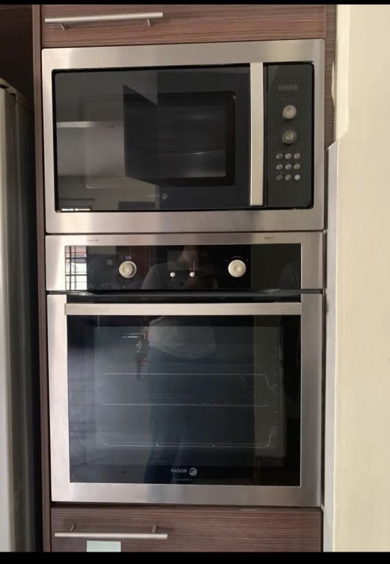 built in oven microwave