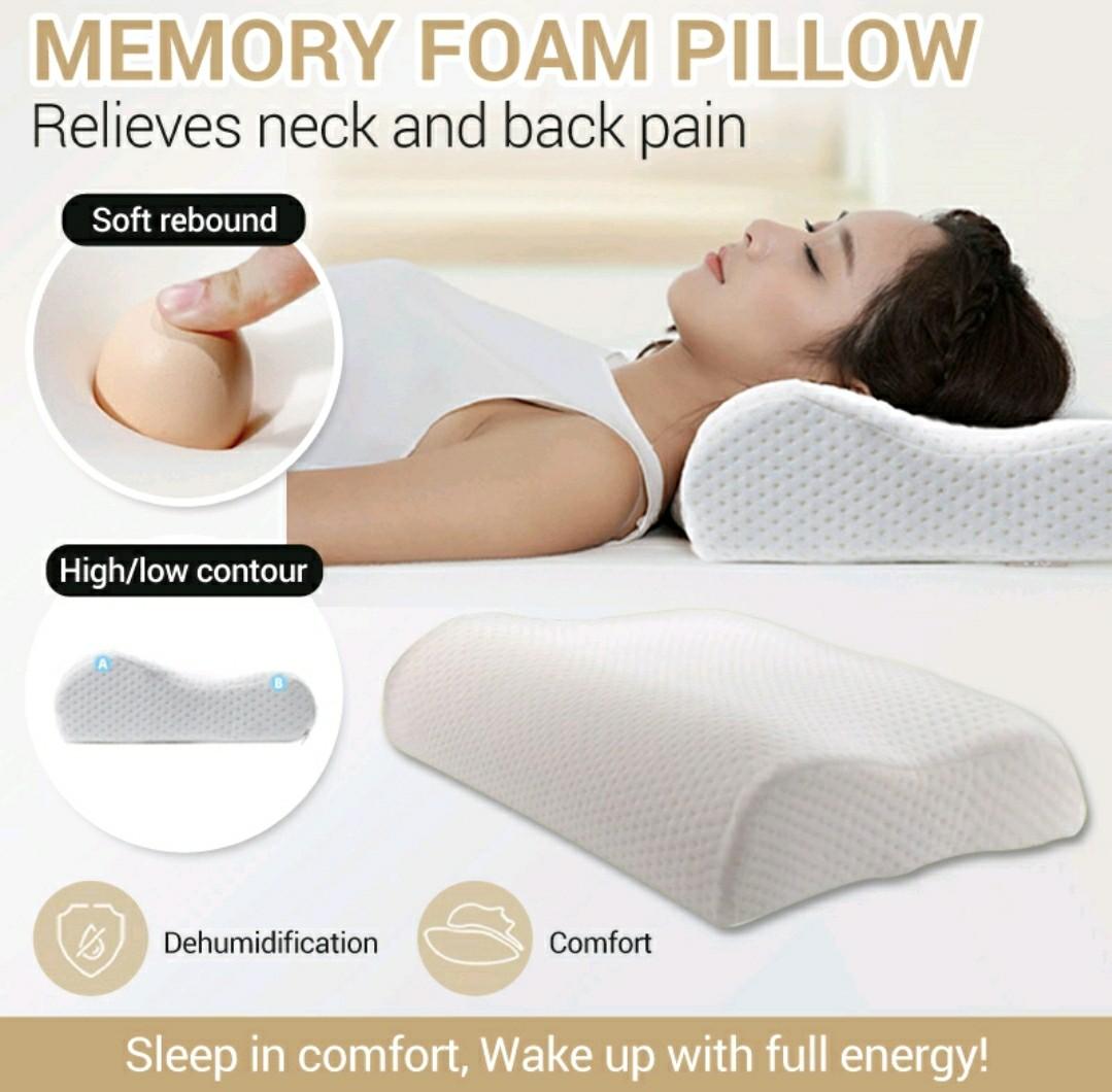 purchase ergonomic foam pillow up to