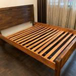 Queen Size Solid Wood Bed Frame Furniture Beds Mattresses On Carousell
