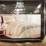 Brand New Twin Size Bedding Set Comforter Set Fitted Sheet Pillowcases Comforter Design 2 Home Furniture Home Tools And Accessories On Carousell