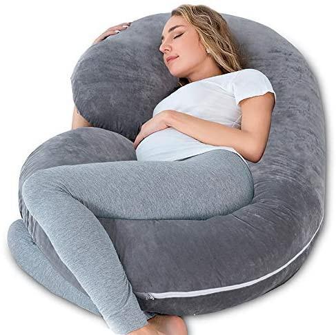 brandnew insen 2 pregnancy pillow maternity body pillow with pillow cover c shaped body pillow for pregnant women