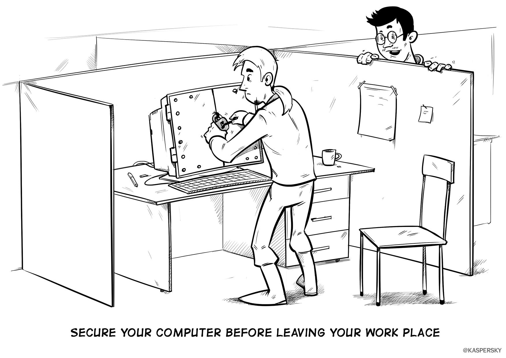 The Yberworld Survival Guide Computer Locking