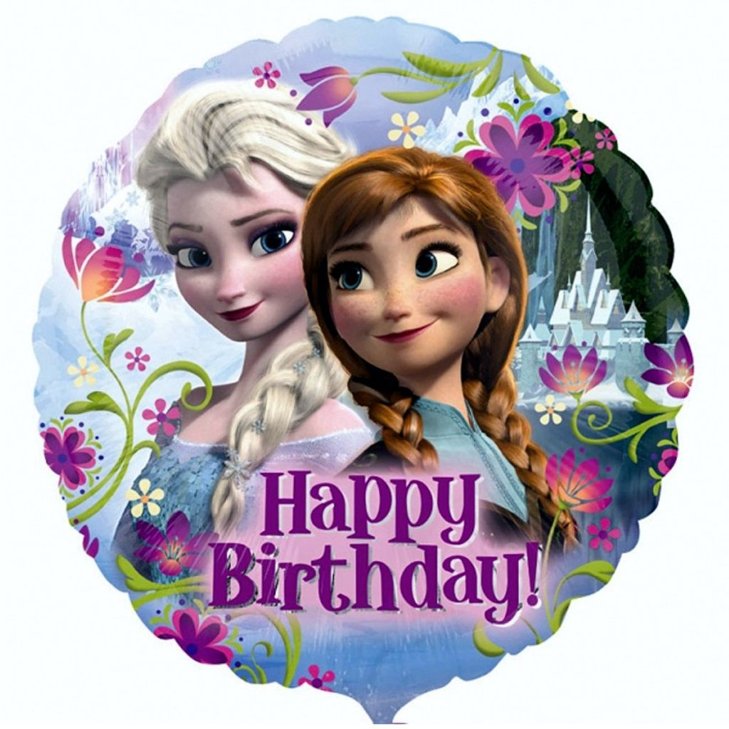 Folienballon Frozen Happy Birthday Madchen 43 Kaufland De