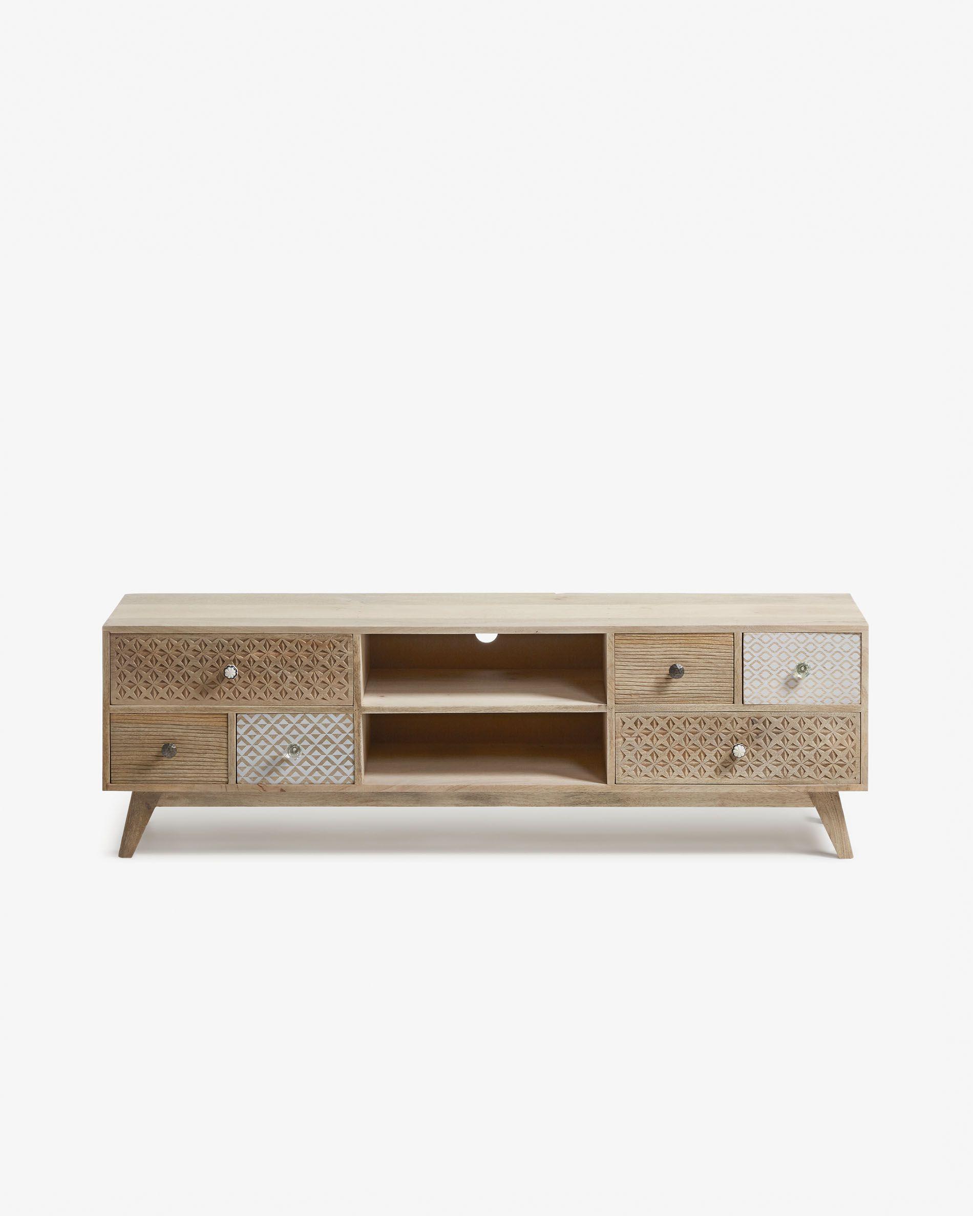 meuble tv hoob 160 x 51 cm kave home