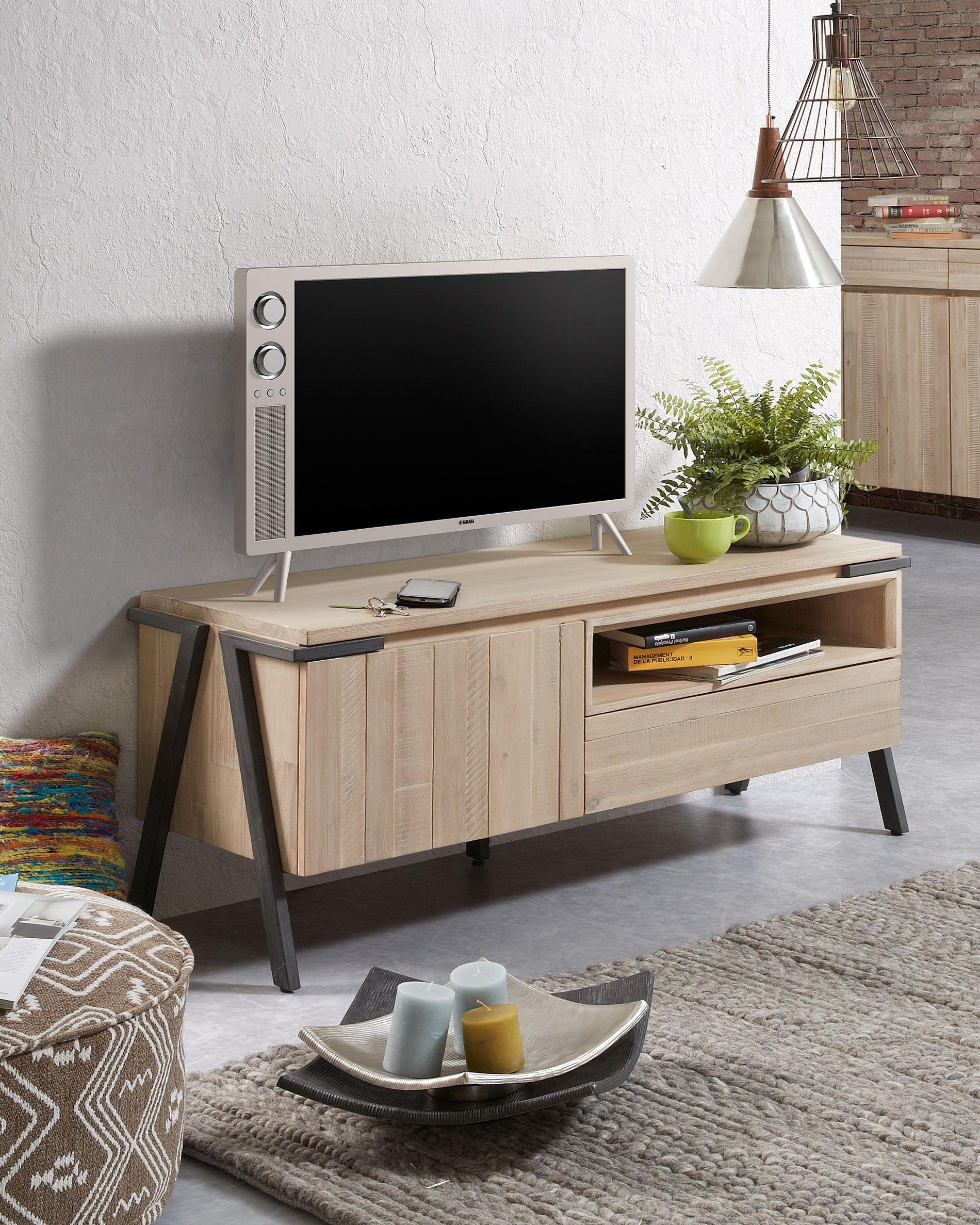 meuble tv thinh 125 x 53 cm kave home