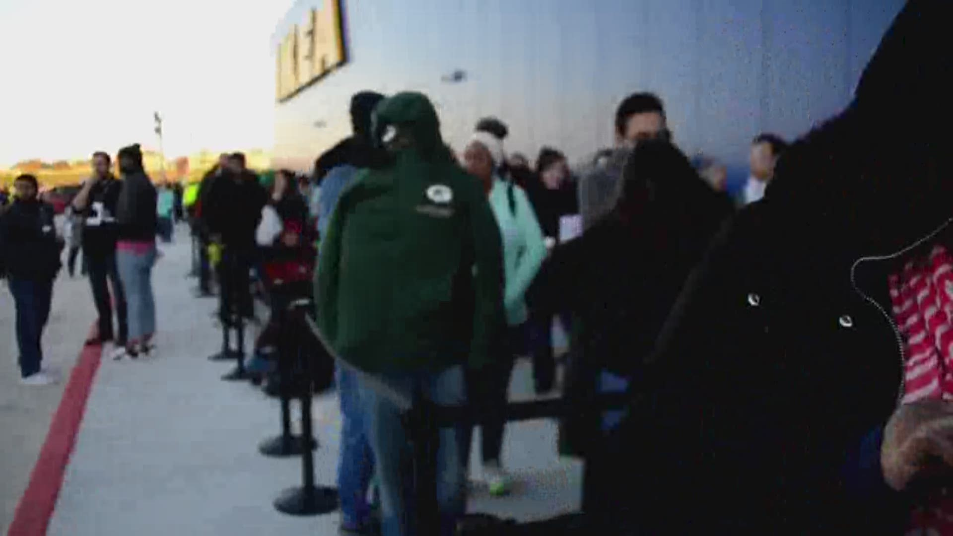 thousands flock to ikea for furniture megastore s opening