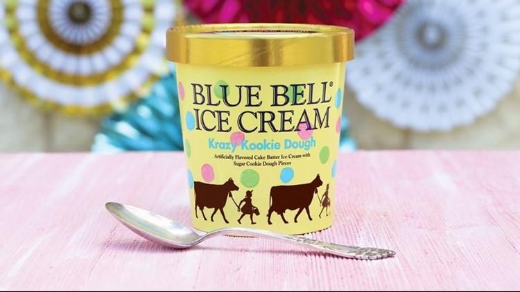 Blue Bell Brings Back Krazy Kookie Dough Ice Cream Khou Com