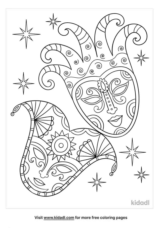 Carnival Coloring Pages  Free Fun Coloring Pages  Kidadl