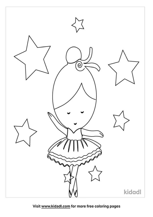 Sugar Plum Fairy Coloring Pages  Free Fairytales & Stories
