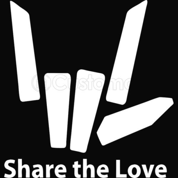 Download share the love logo - stephen sharer Baby Bib   Kidozi.com