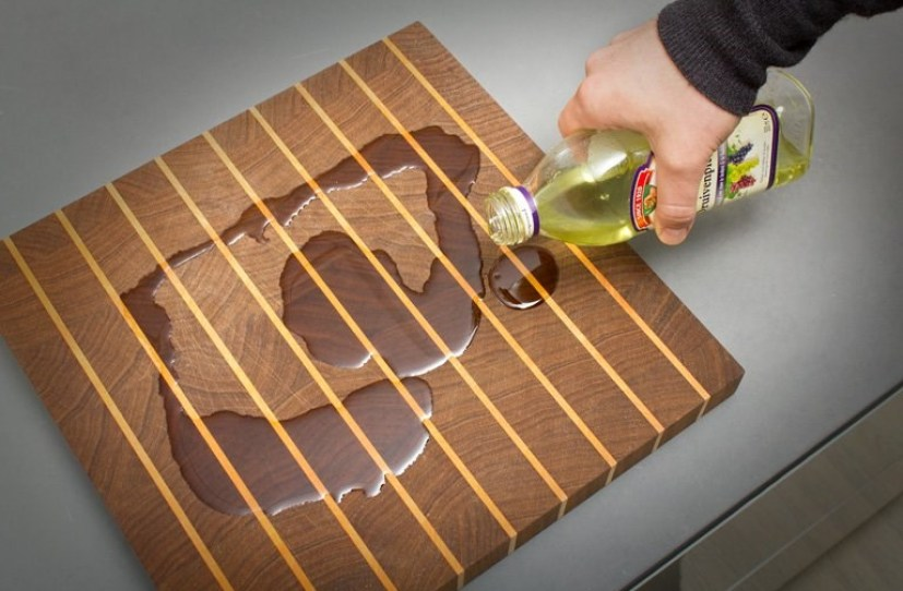 How do you maintain a wooden cutting board?