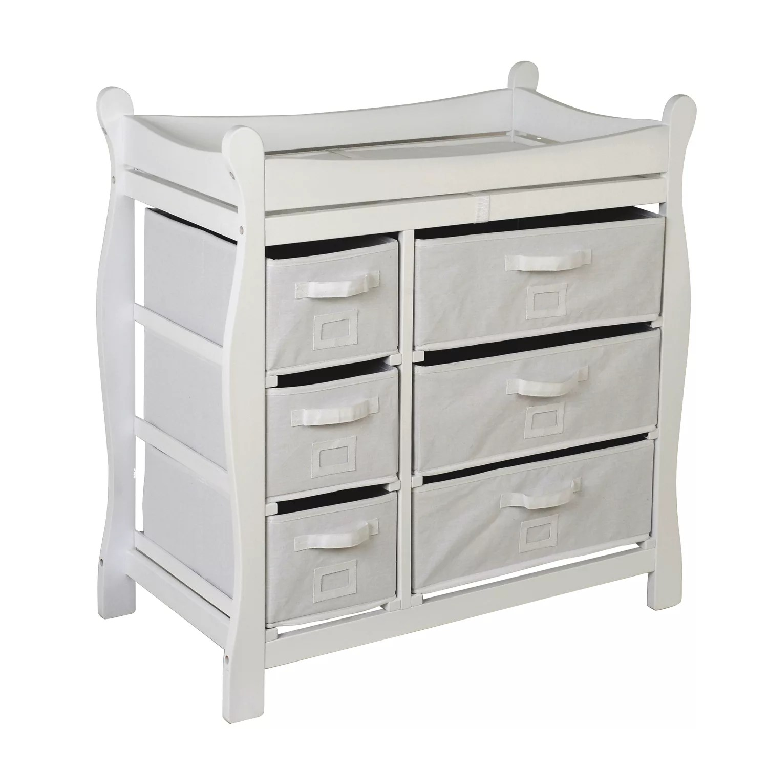 grey changing tables nursery