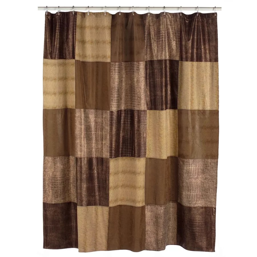 Home Classics Wild Patch Fabric Shower Curtain