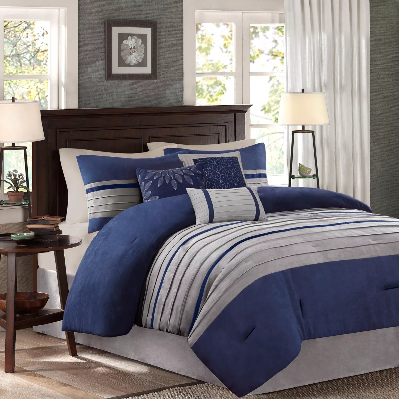 blue comforters kohl s
