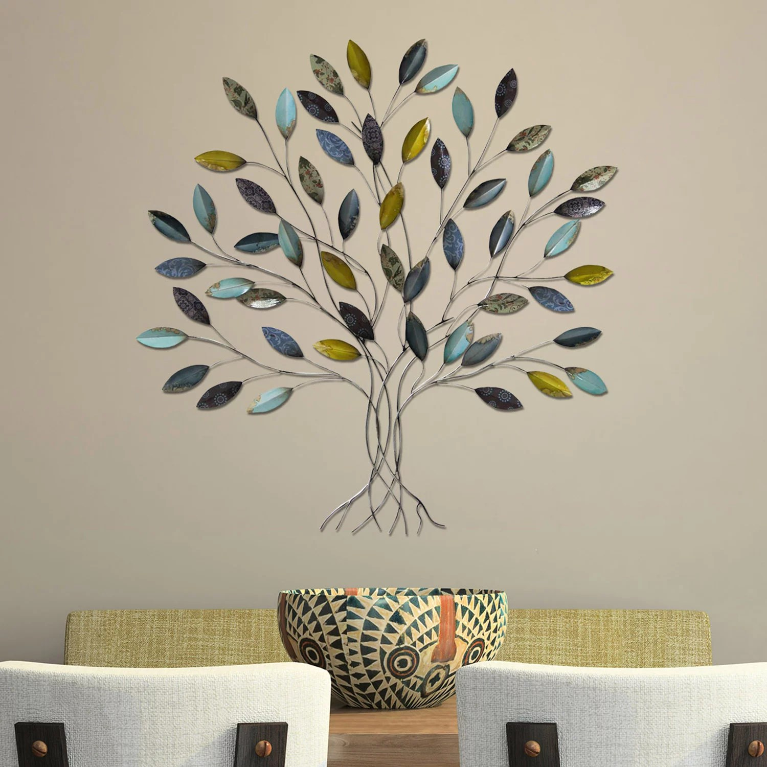 Metal Art   Wall Decor  Home Decor   Kohl s Stratton Home Decor Tree Metal Wall Decor