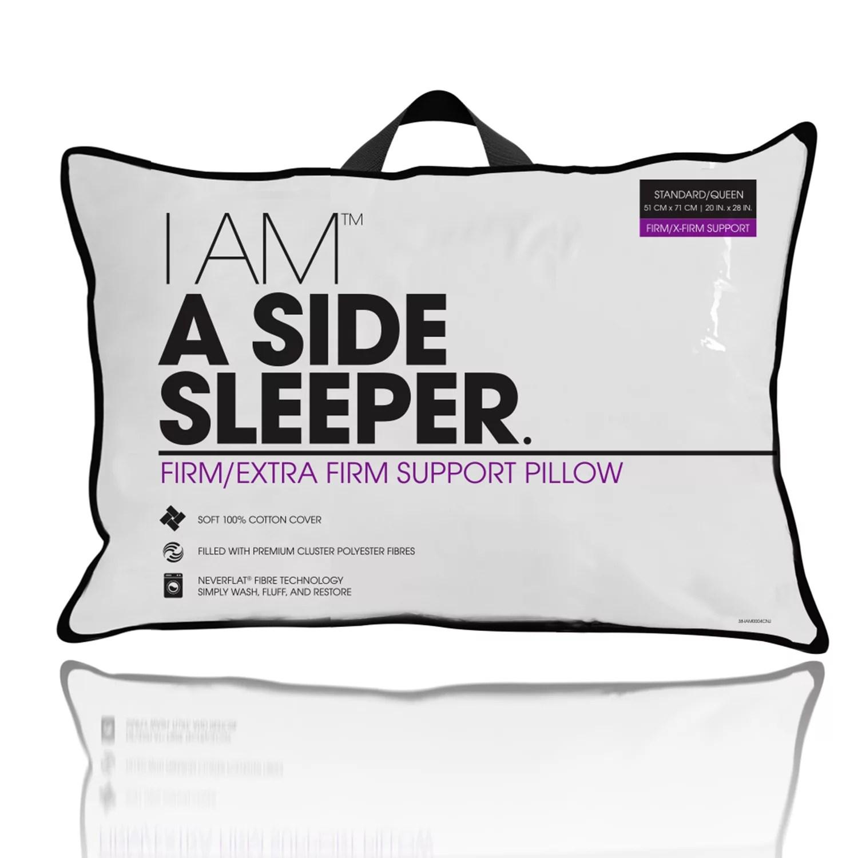 i am a side sleeper pillow