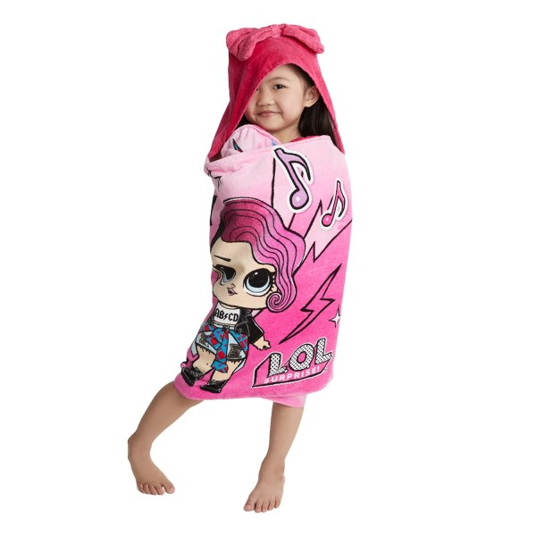 Kids Bathroom Sets   Decor   Kohl s LOL Surprise Hooded Bath Wrap