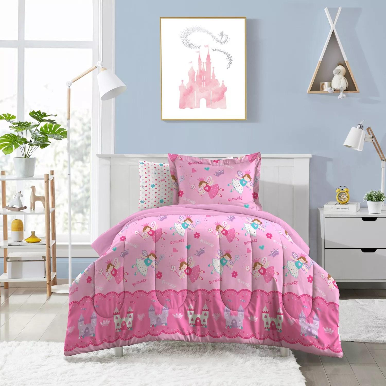 dream factory magical princess 4 piece toddler bed set