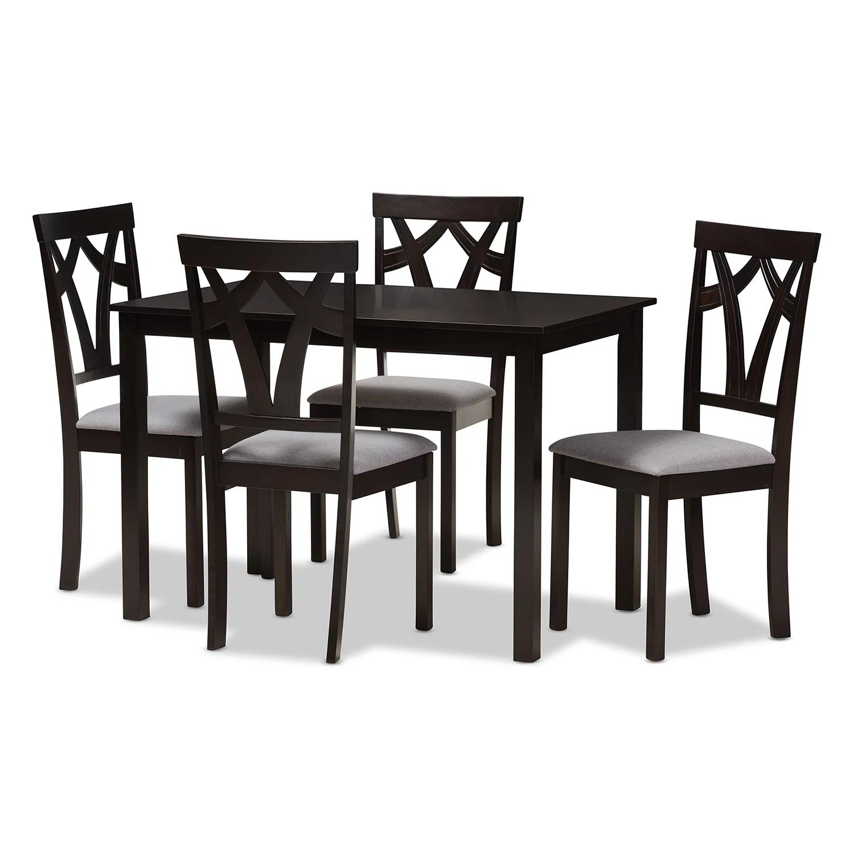 baxton studio dining room tables