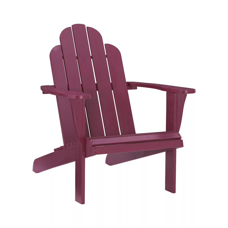linon adirondack indoor outdoor patio chair