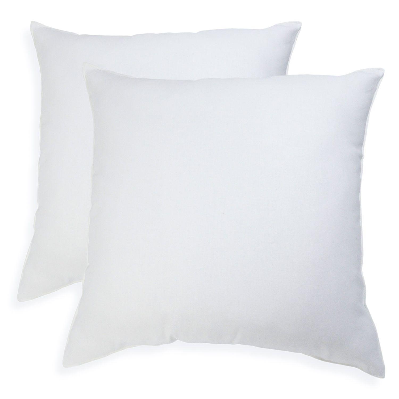 iso pedic 2 pack pillow insert 16 x 16