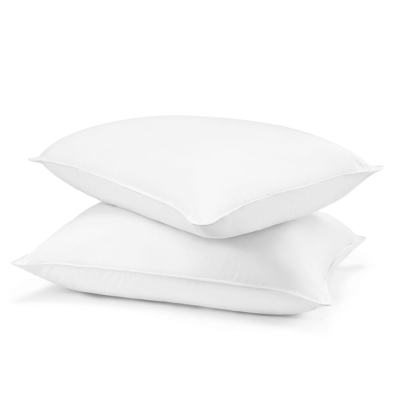 beautyrest 2 pack lux loft down alternative pillow