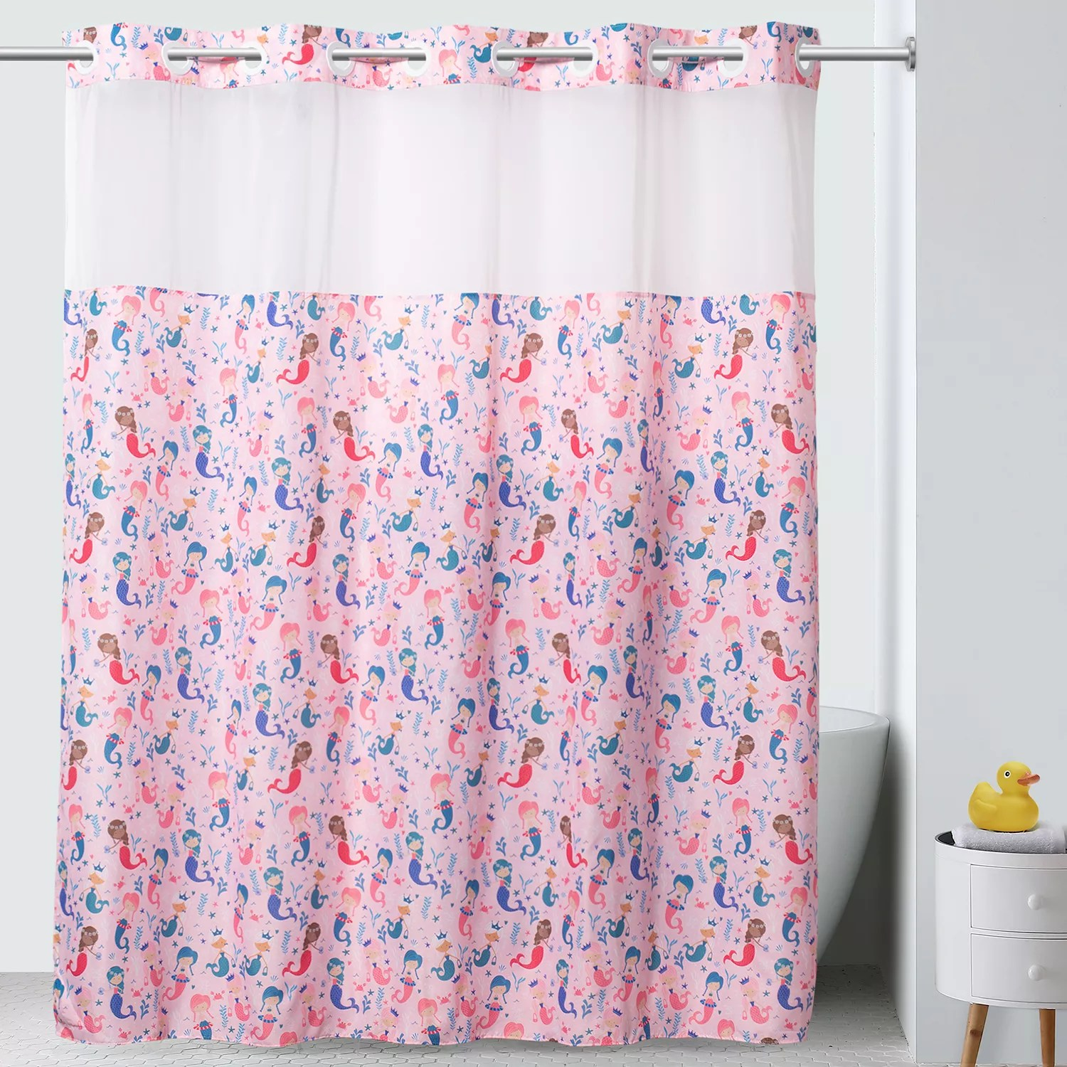 hookless shower curtain liners kohl s