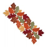Celebrate Fall Together Leaf Cut Out Table Runner 36 Kohls