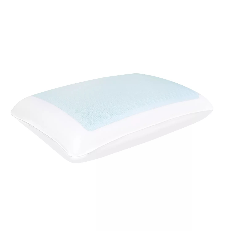 comfort revolution standard bubble gel memory foam pillow