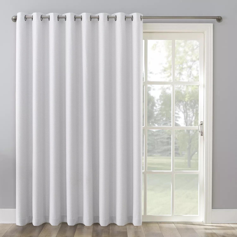 the big one kentfield grommet sliding patio door curtain panel