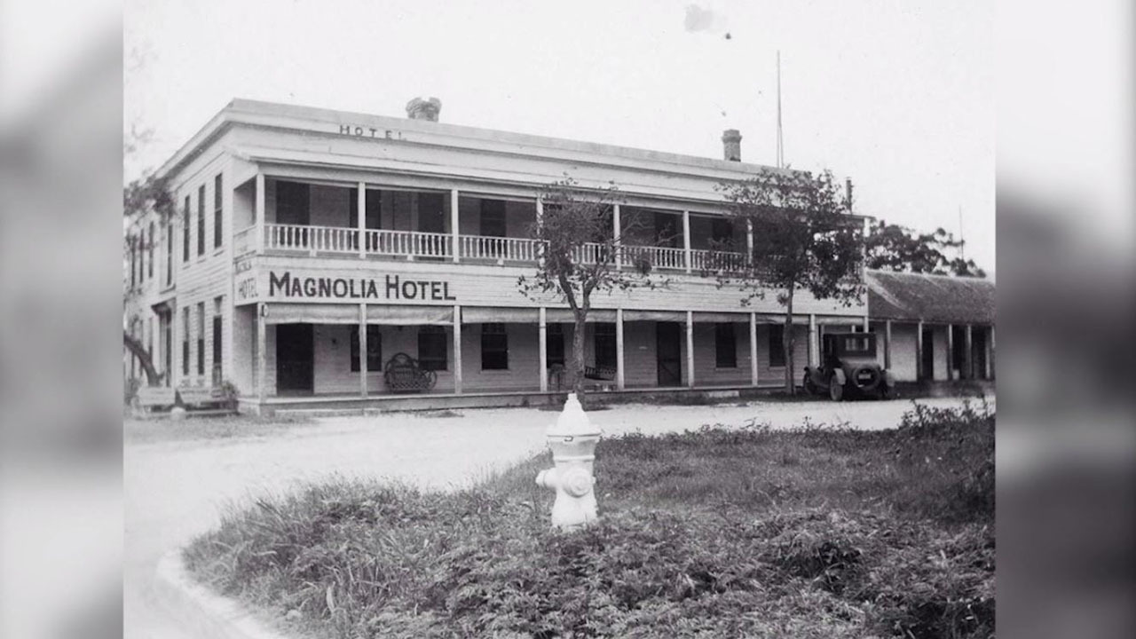 History Of The Haunted Magnolia Hotel