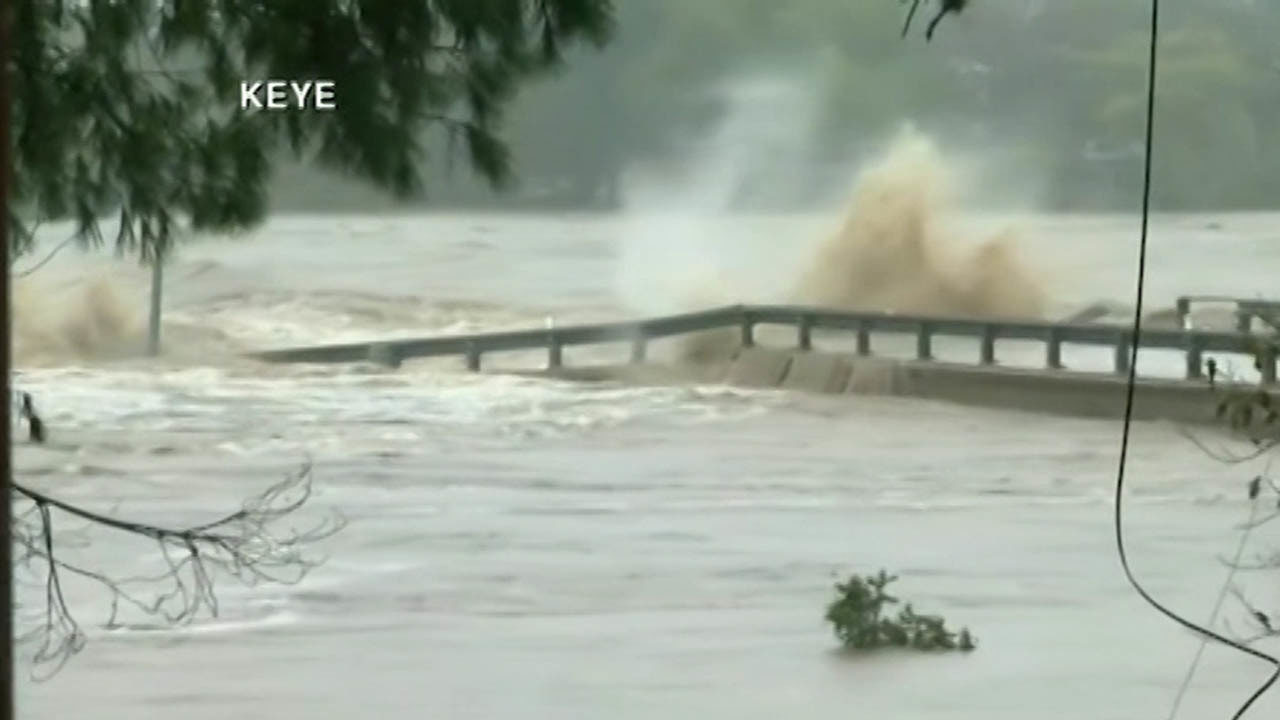 WATCH Video Shows Moment Bridge Destroyed By Rushing